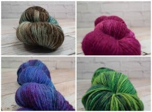 Knitting Alpaca yarn
