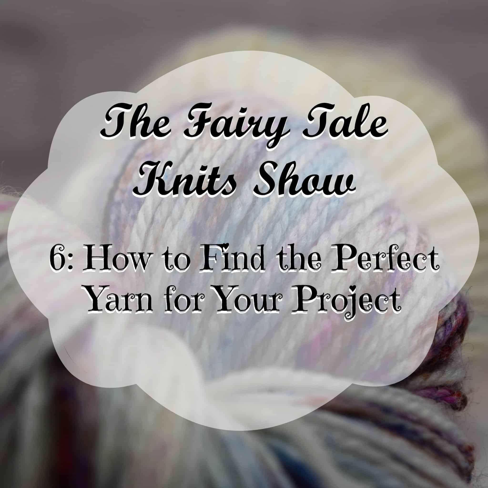 Knitting, Yarn