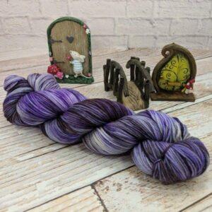 purple fantasy yarn
