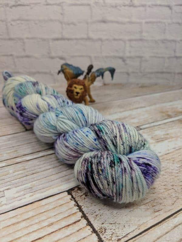 Cashmere cartoon yarn
